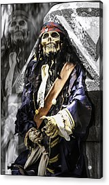 Return Of The Pirate Acrylic Print by LeeAnn McLaneGoetz McLaneGoetzStudioLLCcom