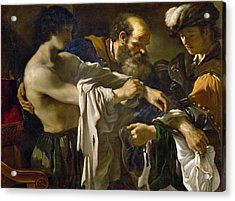 Return Of The Prodigal Son Acrylic Print by Guercino