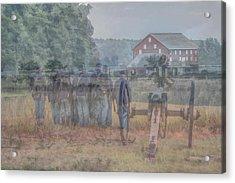 Return To Gettysburg Acrylic Print by Randy Steele