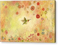 Returning To Fairyland Acrylic Print by Jennifer Lommers