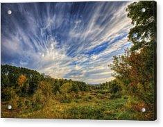 Retzer Nature Center - Waukesha Wisconsin Acrylic Print by Jennifer Rondinelli Reilly - Fine Art Photography