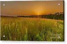Retzer Sunset Acrylic Print by Andrew Slater
