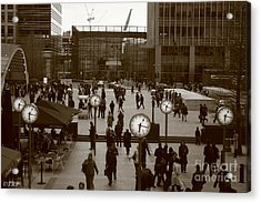 Reuters Plaza  Acrylic Print by Size X