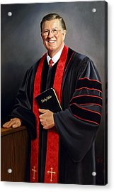 Rev Guy Whitney Acrylic Print by Glenn Beasley