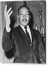 Rev. Martin Luther King Acrylic Print
