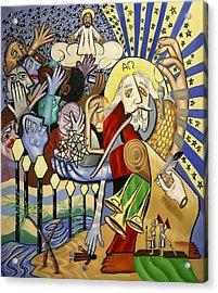 Revelation Chapter 1 Acrylic Print by Anthony Falbo