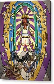 Revelation Chapter 4 Acrylic Print by Anthony Falbo