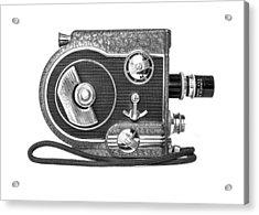Revere 8 Movie Camera Acrylic Print