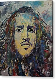John Frusciante Acrylic Print by Michael Creese