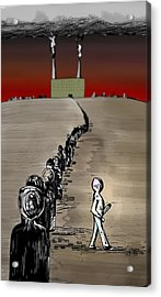 Revolution Acrylic Print by Paul  Griffin