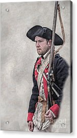 Revolutionary War American Soldier Two Acrylic Print by Randy Steele