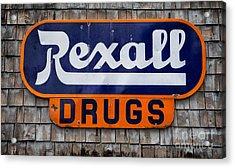 Rexall Drugs Acrylic Print