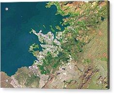 Reykjavik Acrylic Print by Planetobserver
