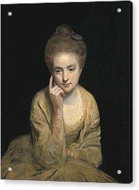 Reynolds, Sir Joshua 1723-1792. Studio Acrylic Print by Everett