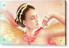 Acrylic Print featuring the painting Rhapsody S.e. Print by Michael Rock