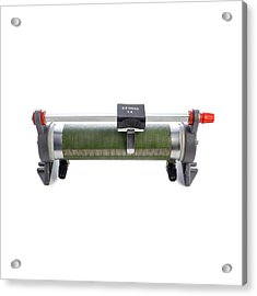 Rheostat Acrylic Print by Science Photo Library