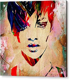Rhianna Collection Acrylic Print by Marvin Blaine