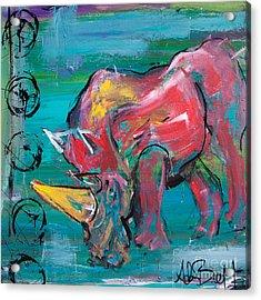 Rhino - Wisdom Acrylic Print