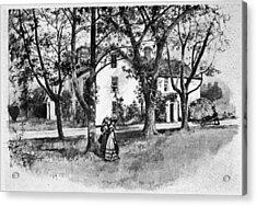 Rhode Island Greene House Acrylic Print by Granger