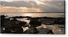 Acrylic Print featuring the photograph Rhode Island Sunset by Brooke T Ryan