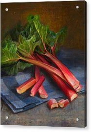 Rhubarb Acrylic Print