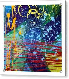 Rhythm And Melody  Acrylic Print