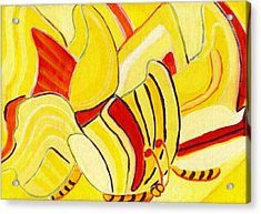 Rhythm Of Butterflies Acrylic Print by Olivia  M Dickerson