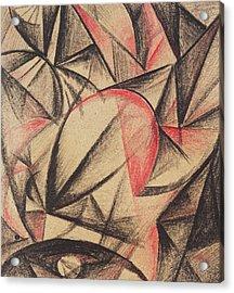 Rhythm Of Forms Acrylic Print by Alexander Bogomazov