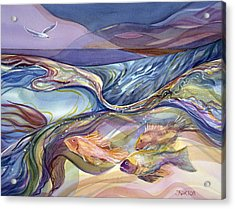 Rhythm Of The Bay Acrylic Print