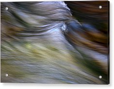 Rhythm Of The River Acrylic Print by Michael Eingle