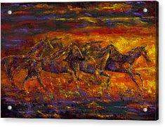 Rhythm Of The West Acrylic Print