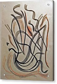 Rhythmic Interpretation  Acrylic Print by John Neumann
