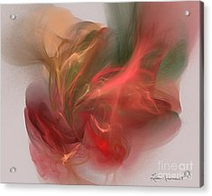 Rhythmical Dance Acrylic Print by Leona Arsenault