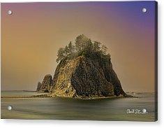 Rialto Beach - Little James Island Acrylic Print