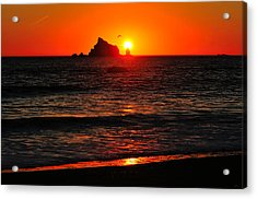 Rialto Beach Sunset Acrylic Print