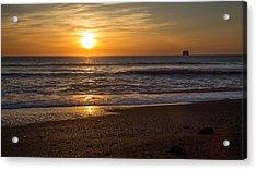 Rialto Beach Sunset Acrylic Print by Pierre Leclerc Photography