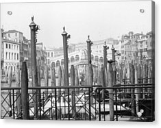 Rialto Bridge Venice Acrylic Print by Dorothy Berry-Lound