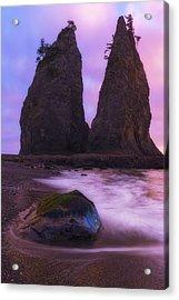 Rialto Monoliths Acrylic Print by Ryan Manuel