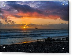 Rialto Sunset Acrylic Print