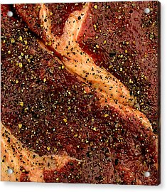 Rib Eye Candy Acrylic Print by James Temple