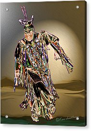 Ribbon Dancer Acrylic Print by Kae Cheatham