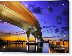 Ribbon In The Sky Acrylic Print by Marvin Spates