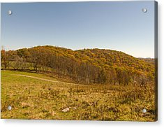 Rich Mountain Autumn Acrylic Print