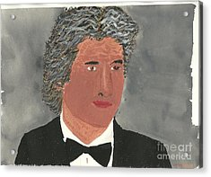 Richard Gere Acrylic Print by Tracey Williams