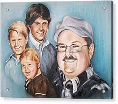 Richard Growing Up Acrylic Print