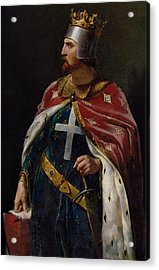 Richard I The Lionheart Acrylic Print