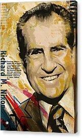 Richard Nixon Acrylic Print