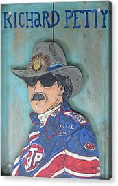 Richard Petty Acrylic Print