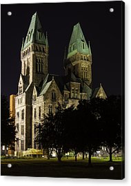 Richardson Olmsted Complex From The Lawn Acrylic Print by Don Nieman