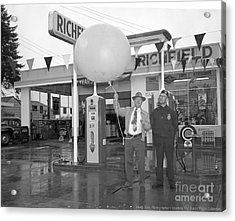 Richfield Station Opening  Acrylic Print